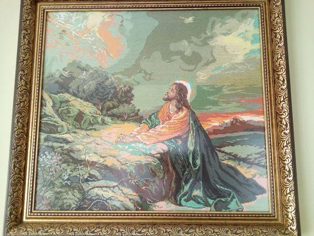 Продам вишитая картина икона