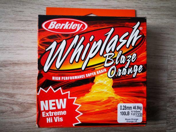 Plecionka Berkley Whiplash Blaze Orange 0,28 mm 110 m 46,9 kg