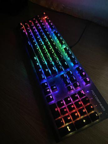 Клавиатура Motospeed CK108 RGB НОВАЯ!!