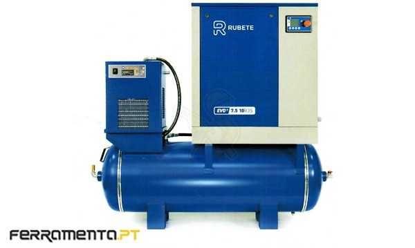 Compressor Parafuso 10HP 290Lt + Secador Rubete