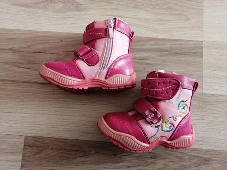 Kozaki buty zimowe r. 21 stan b. Dobry