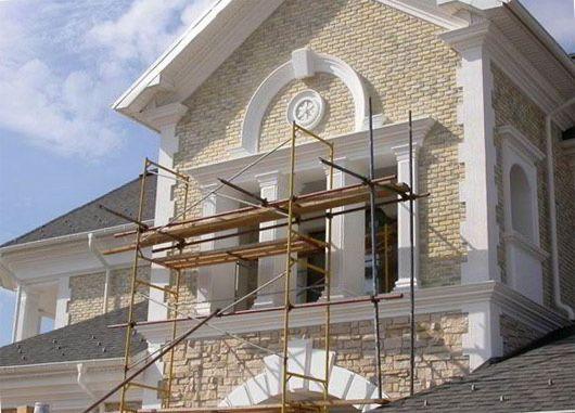 Утепление,декоративная отделка фасадов,домов,зданий,отделка планкеном