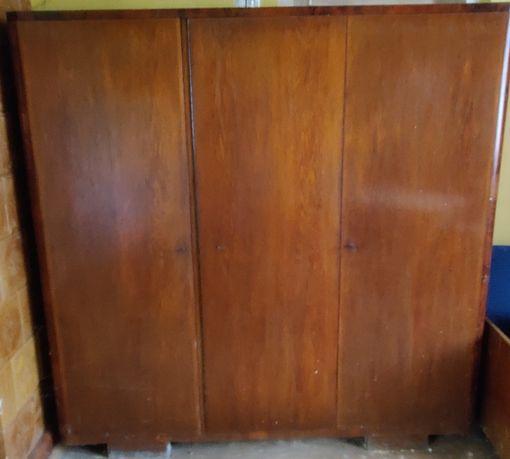 Stara zabytkowa szafa dębowa antyk 3 drzwiowa