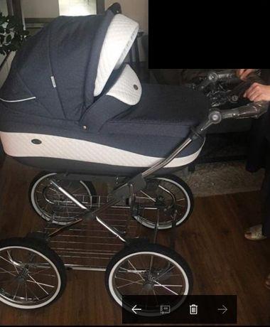 Wózek w stylu retro Roan Emma 3w1 stan b.dobry, DG os. Mydlice
