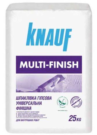 Мультифиниш Knauf Multi-Finish шпаклевка гипсовая универсальная
