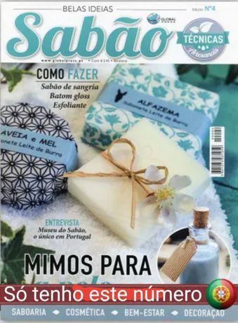 Revista Sabão NR 4 artesanato envio grátis