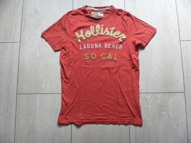 T-shirt męski Hollister M bluzka z krótkim rękawem