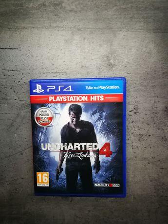 Uncharted 4 kres złodzieja ps4 ps5