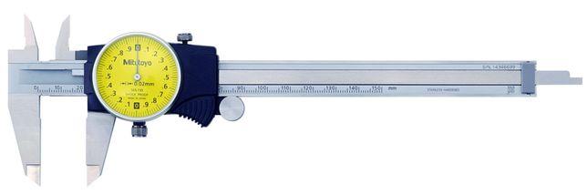 Штангенциркуль MITUTOYO с круговой шкалой, 0-150 мм, 0,02 мм