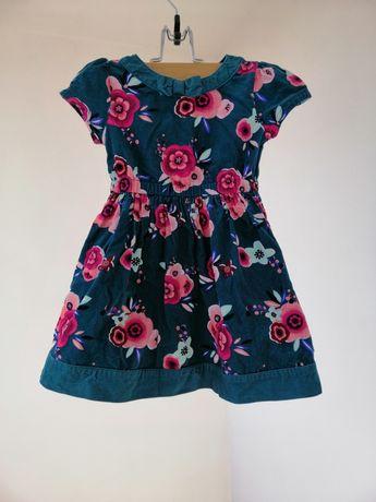 Нарядное платье для девочки 2-3 года