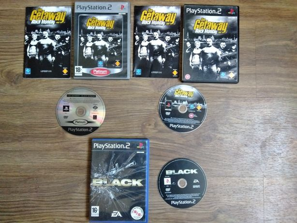 The Getaway Black Monday i Black ps2