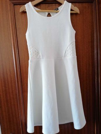 Vestido branco menina