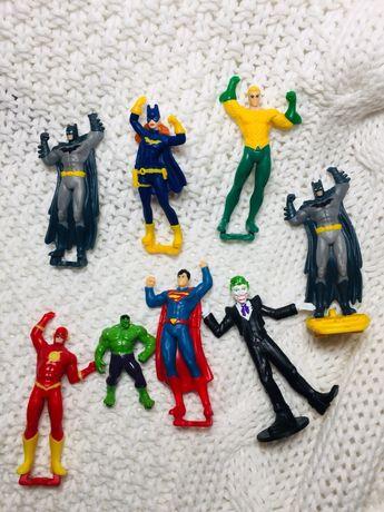 Супергерои Марвел и киновселенной DC