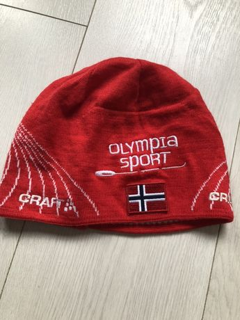 Craft - sportowa ciepla czapka roz.L/XL j.nowa