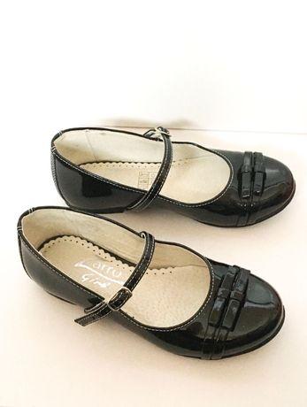 Sprzedam buty lakierki rozm. 31 skórzane firmy Zarro.