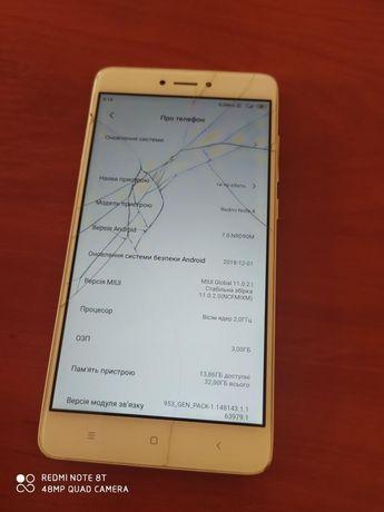 Xiaomi redmi note 4x робочий телефон,смартфон