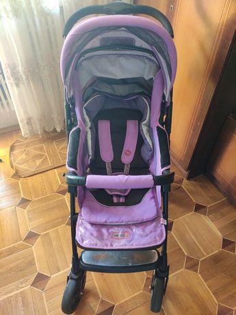 Прогулочная коляска Baciuzzi B8.4 фиолетовая