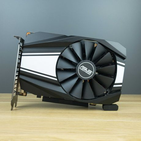 Новая! Видеокарта Asus GeForce GTX 1660 Phoenix 6 GB. АКЦИЯ!
