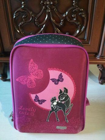 Рюкзак для девочки + подарок (набор карандашей)