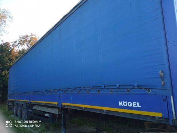 Kogel Naczepa Burto Firanka pierwszy właściciel+ Scania R 420