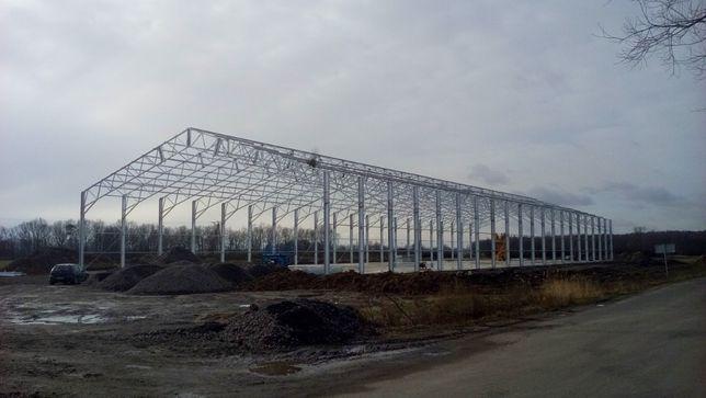 Konstrukcje stalowe, hale magazynowe, hale produkcyjne, wiaty GAJ-STAL