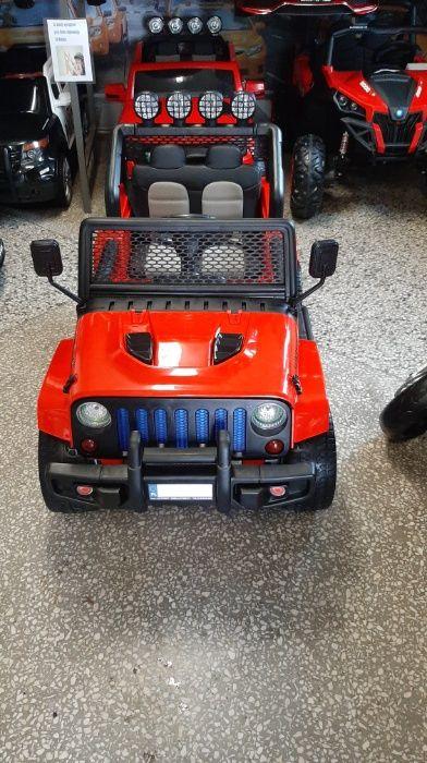 Jeep 4x4 samochód na akumulator dla dzieci PILOT Dąbrowa Górnicza - image 1