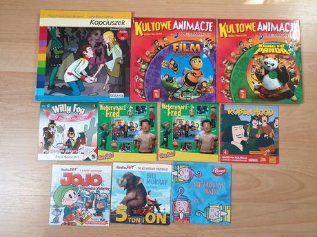 Bajki dla dzieci filmy animowane CD