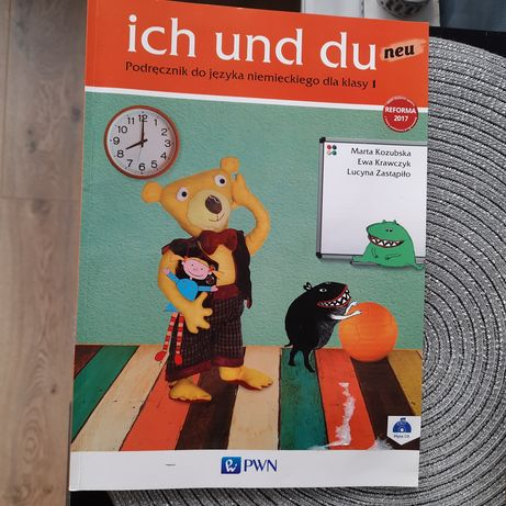 Książka - Ich und du dla klasy 1