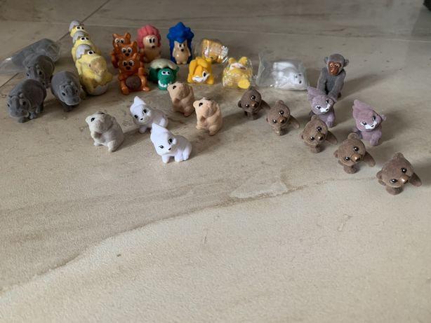 Kinderki figurki z jajka z niespodzianką pluszowe zwierzaki