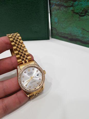Zegarek damski  Rolex Datejust  kolor złoty  . 36 mm nowy  Super