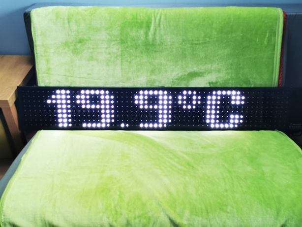 RGB Technology K5 (160x25cm) - wyświetlacz tekstowy