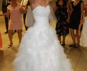 Piękna suknia śluba