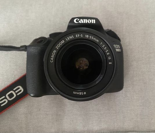 Máquina fotográfica CANON EOS 1300D + Lente de EF-S 18-55mm + bolsa +