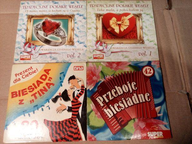 4 CD Tradycyjne polskie wesele, Biesiada hity