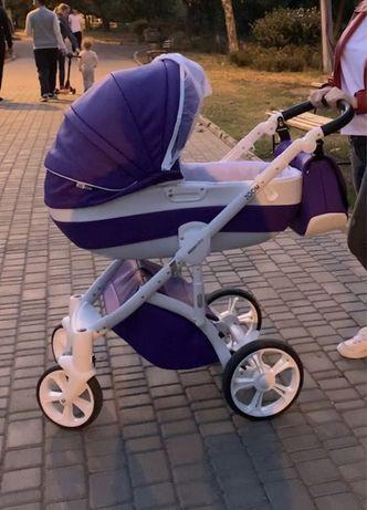 Универсальная коляска 2 в 1 Mioobaby Zoom 2 в 1 Emotion Violet