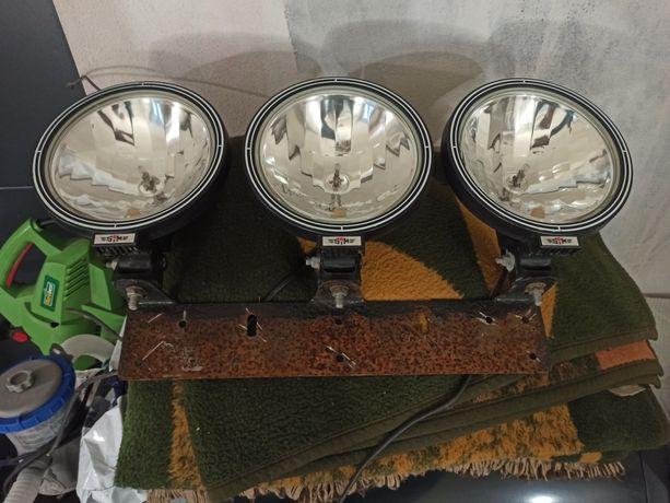 Lampy dalekosiężne Terenówka Offroad Laweta 4x4 Zobacz