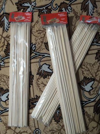 Бамбуковые палочки 40см/5 мм и 4мм