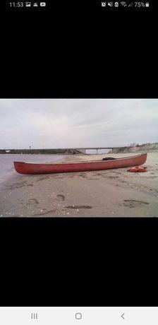 Canoa 3m comprimento para passeios na ria