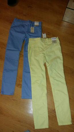 Spodnie nowe 2 pary Primark 12-13 lat typu jeggins rozm.152