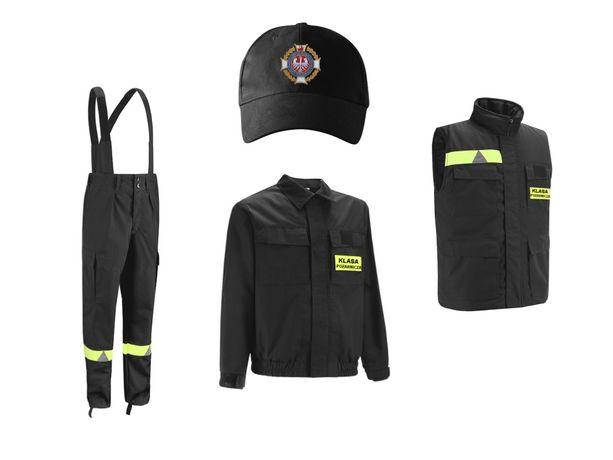 Koszarówka 4 części mundur klasa pożarnicza