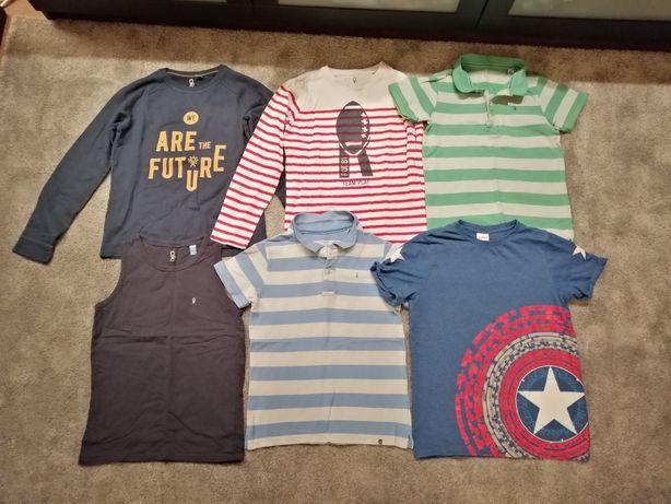 Mega paka komplet ubrań / ubrania dla chłopca Okaidi H&M 10-12 lat