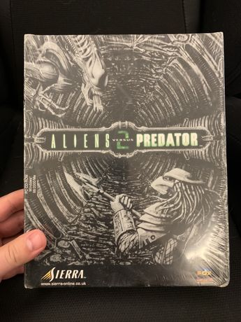 Aliens vs Predator 2 big box nowa w folii dystr EU.