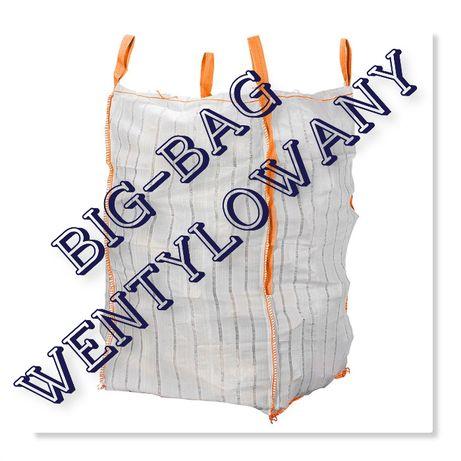 Worki Big Bag Wentylowane na Warzywa 180cm Wysokości Ładne Bez zabr.