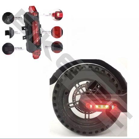 USB фонарь для велосипеда та електросамокат xiaomi m365 , ninebot