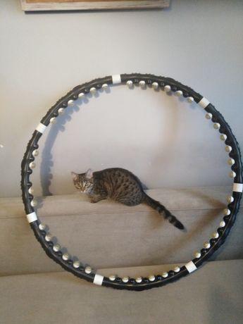 Hula hop koło do kręcenia na biodra modelujące z wypustkami masaż