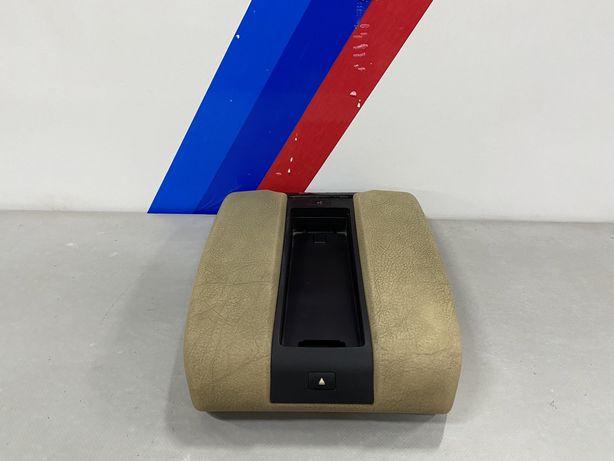 Подлокотник БМВ Е39 Белый под Телефон Підлокотник Білий Шкіра BMW