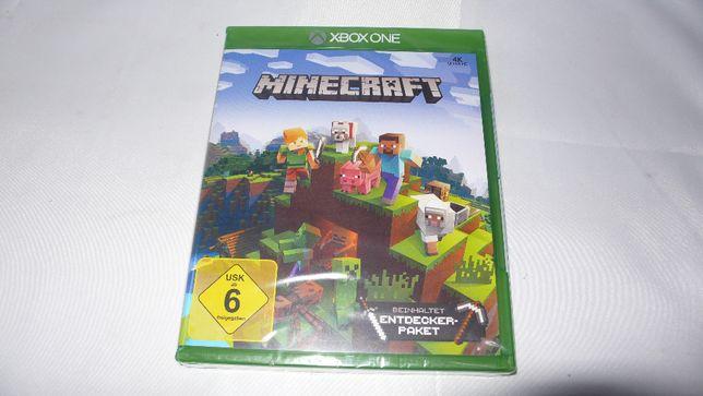 Gra nowa w folii do XBox One One S Minecraft zawiera Pakiet Odkrywców
