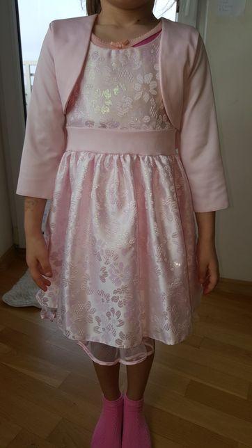 Sukienka z bolerkiem w rozm.110
