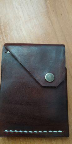 portfel skórzany nowy
