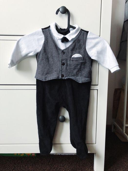 Welurowy pajacyk Jacky Baby - garnitur samochodowy niemowlęcy body 68 Kraków - image 1